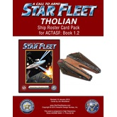 A Call to Arms: Star Fleet Book 1.2: Tholian Ship Roster Card Pack
