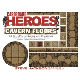 Cardboard Heroes Cavern Floors