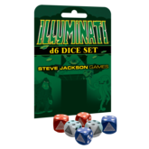 Illuminati d6 Dice Set