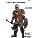 Paper Miniatures: Dwarf Adventurers