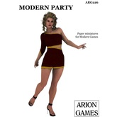 Paper Miniatures: Modern Party
