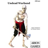 Paper Miniatures: Undead Warband