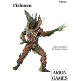 Paper Miniatures: Fishmen