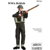 Paper Miniatures: WW2 British