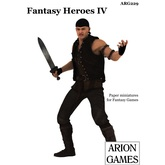 Paper Miniatures: Fantasy Heroes IV