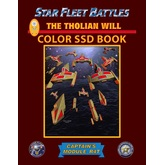 Star Fleet Battles: Module R4T - The Tholian Will SSD Book (Color)