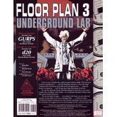 Floor Plan 3 - Underground Lab