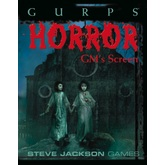 GURPS Classic: Horror GM's Screen