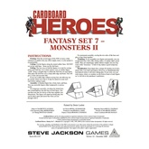 Cardboard Heroes: Fantasy Set 07 - Monsters II