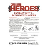 Cardboard Heroes: Fantasy Set 09 - Dungeon Dangers