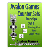 Avalon Counters, Starships Set #1