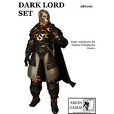 Paper Miniatures: Dark Lord Set