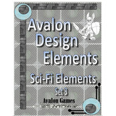 Avalon Design Elements Sci-Fi Elements #3