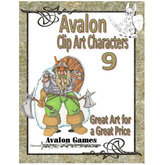Avalon Clip Art Characters, Dwarf 2