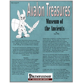 Avalon Treasure, Vol 1, Issue #7, Museum of the Ancients