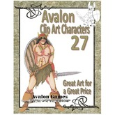 Avalon Clip Art Characters, Barbarian 1